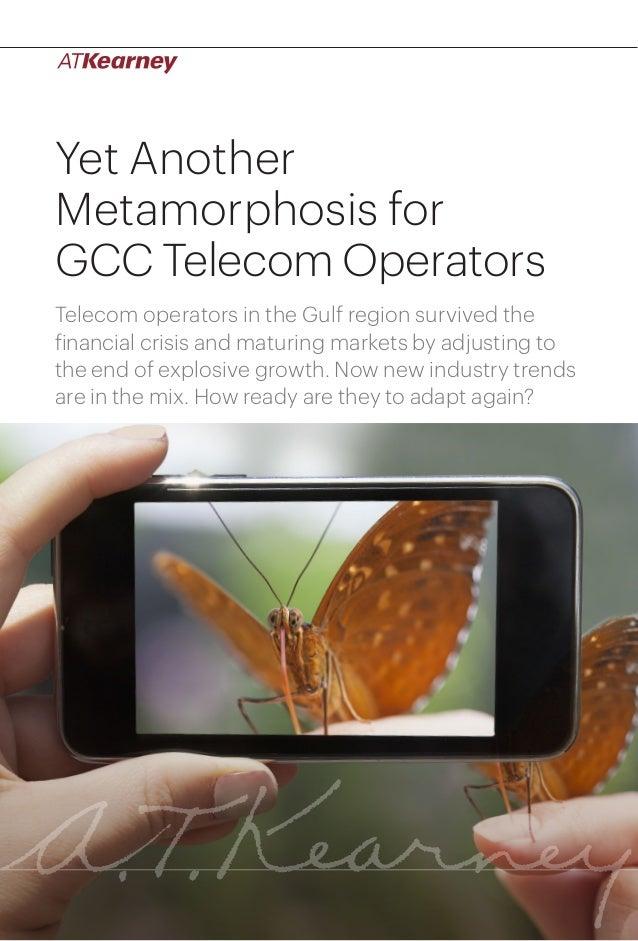 Yet another metamorphosis for gcc telecom operators