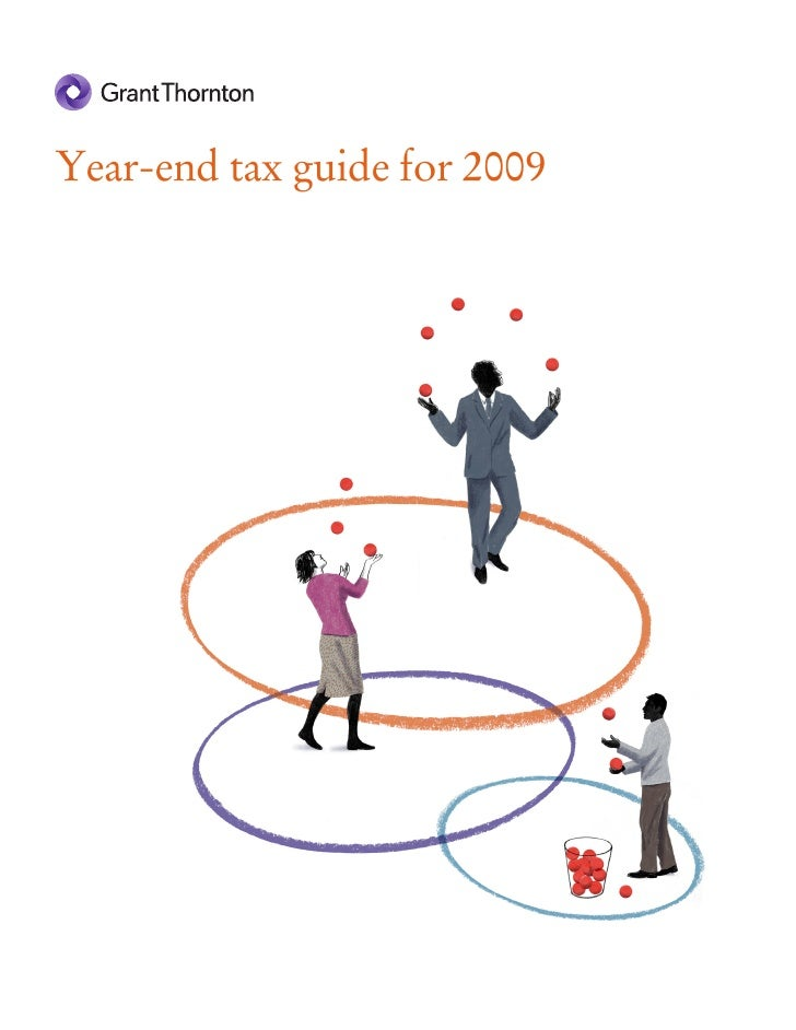 2009 Year End Tax Guide