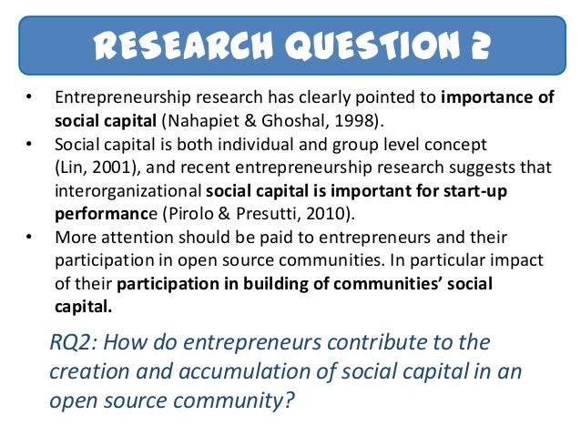 Phd research proposal entrepreneurship