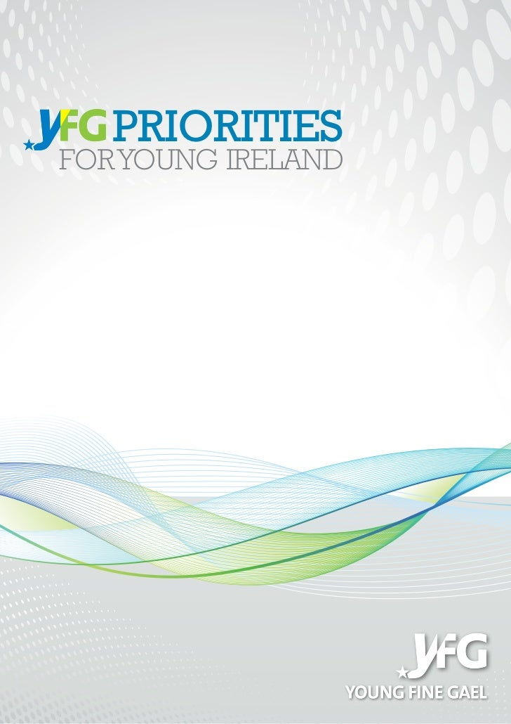 YFG - Priorities for Young Ireland