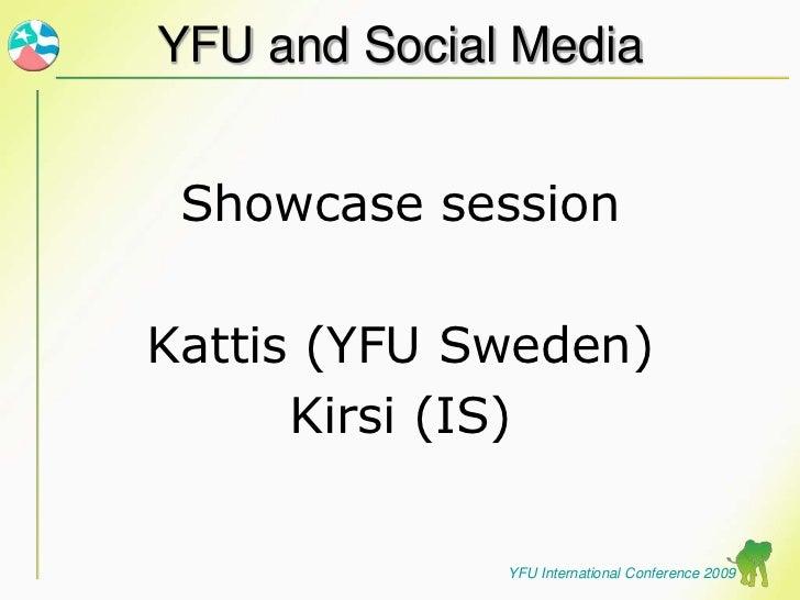 Yfu And Social Media