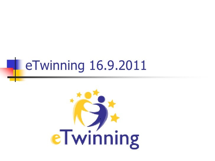 eTwinning 16.9.2011