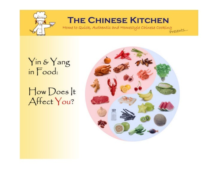 Yin and Yang Food: How Does It Affect You