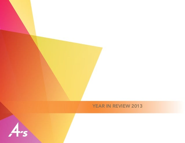 4A's Year in Review 2013