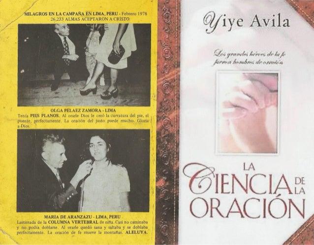 La Ciencia De La Oración - Yiye Avila