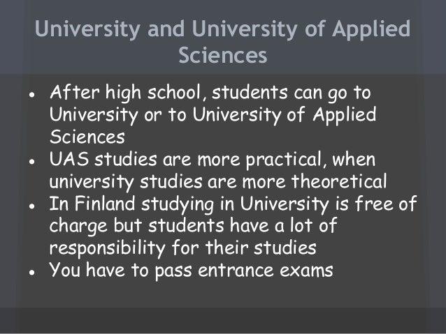 Yliopisto ja ammattikorkeakoulu, finland