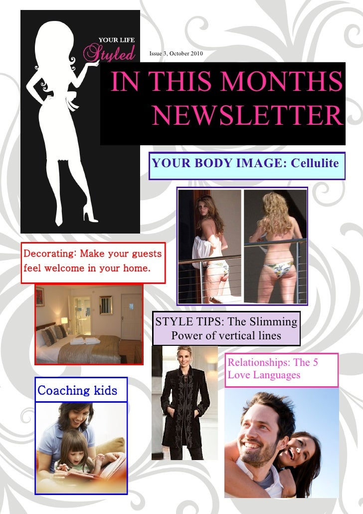 Issue 3, October 2010                      IN THIS MONTHS                     NEWSLETTER                          YOUR BOD...