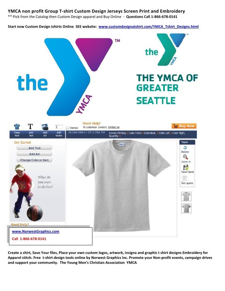 Ymca non profit group t shirt custom design jerseys screen for Non profit t shirt printing