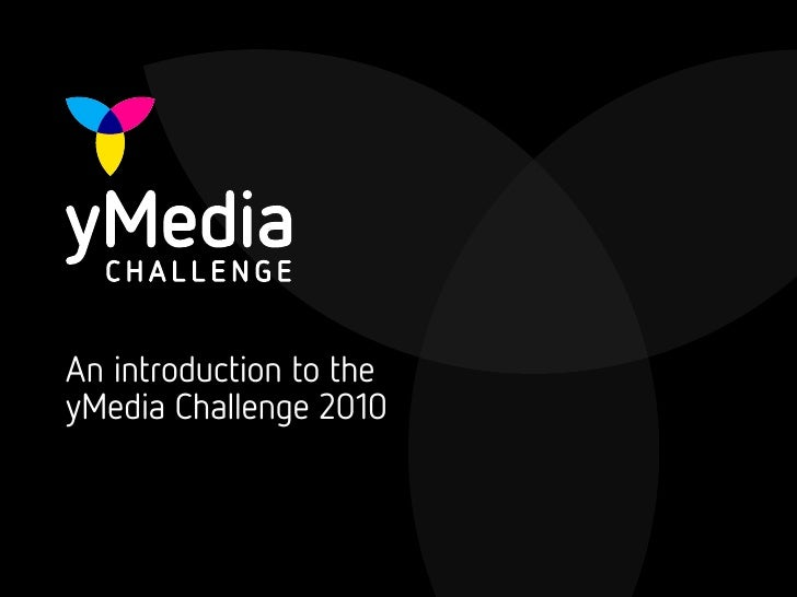 yMedia Challenge 2010 - an introduction