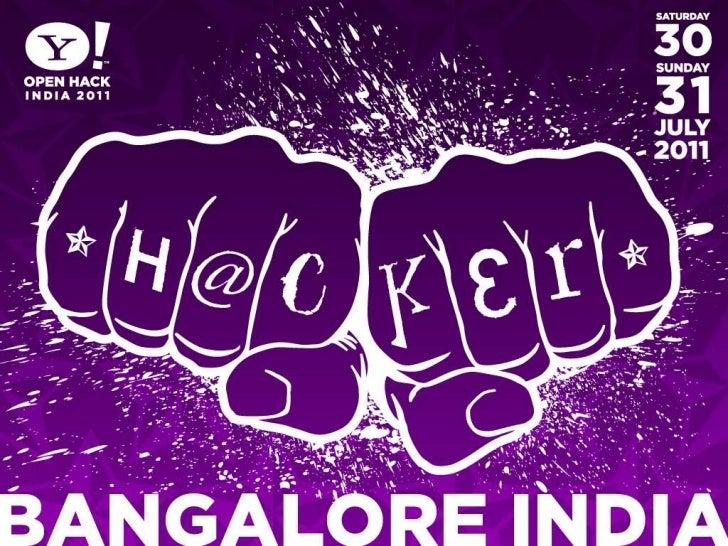 Y! messenger API  - Yahoo! Bangalore OpenHackday