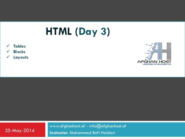 Html_Day_Three(W3Schools)