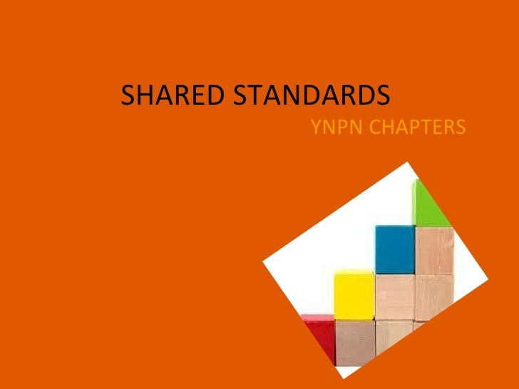 Ynpn 3.0   shared standards proposal