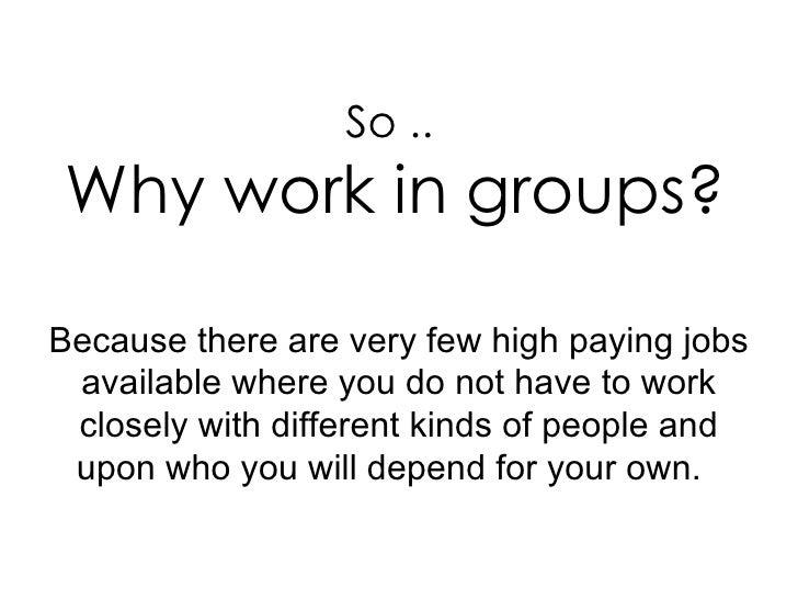 Writing groups