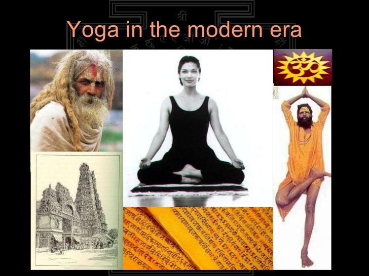 Yoga in the modern era
