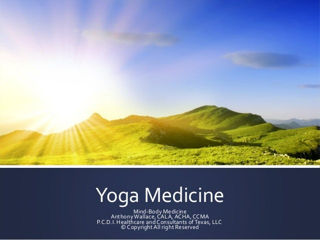 Yoga medicine presentation