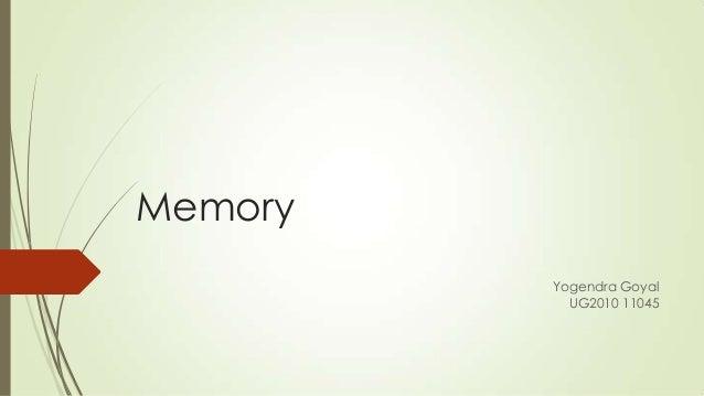 Yogendra memory