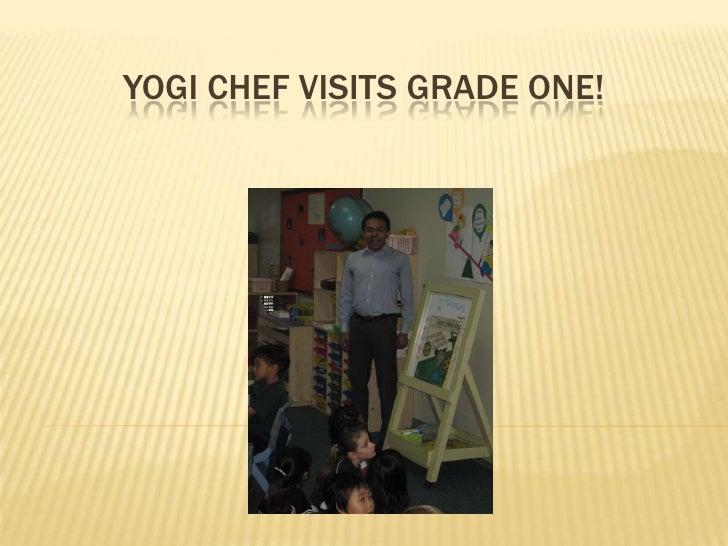 Yogi chef