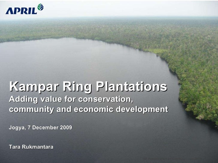 Kampar Ring Plantations, Indonesia
