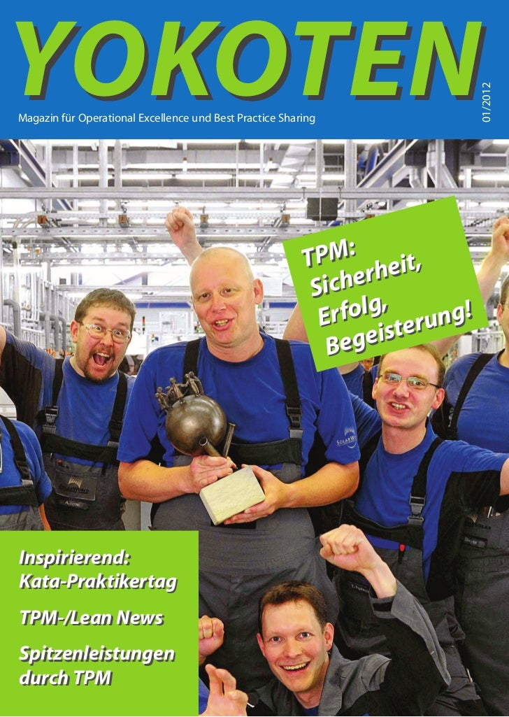 YOKOTEN                                                                           01/2012Magazin für Operational Excellenc...
