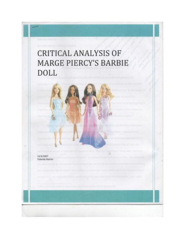essay on barbie doll by marge piercy