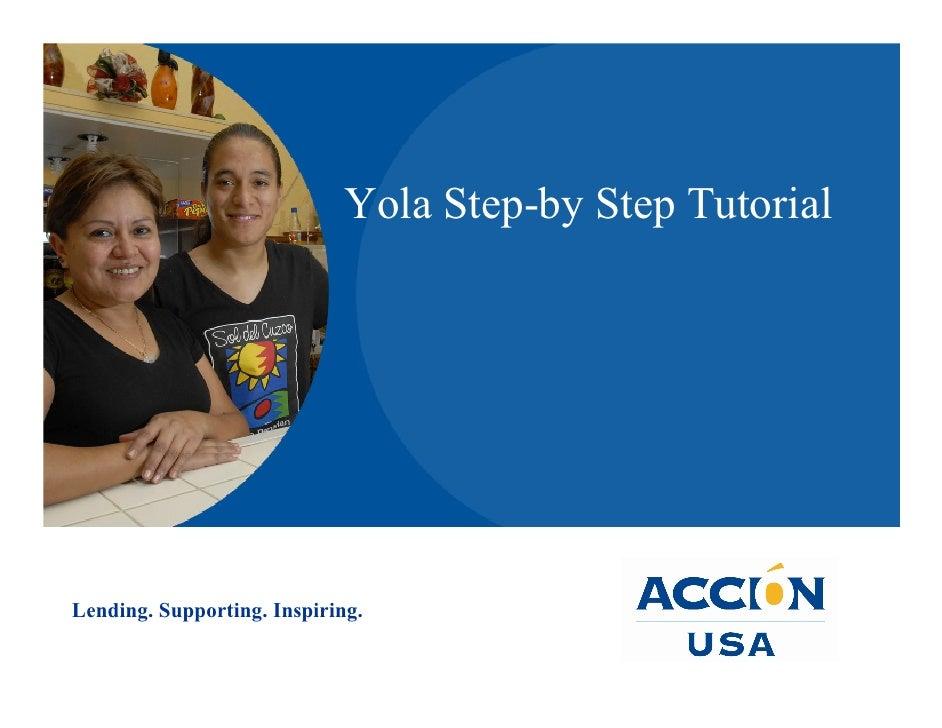 Yola Step By Step ACCION USA