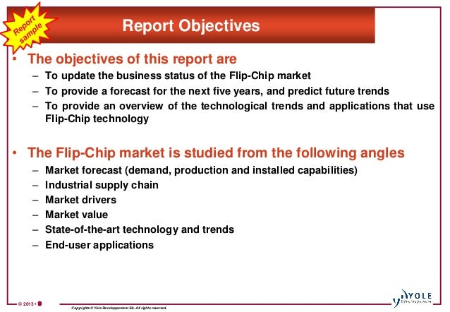 flip chip market and technology trends