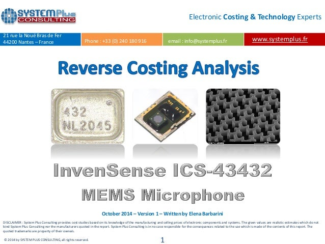 Invensense Ics43432 Digital Mems Microphone additionally Survey Of Mems Microphone Technology as well Iphone 5 Mems Microphones Aac Technologies further Mems Microphone additionally  on iphone 5 mems microphones aac technologies