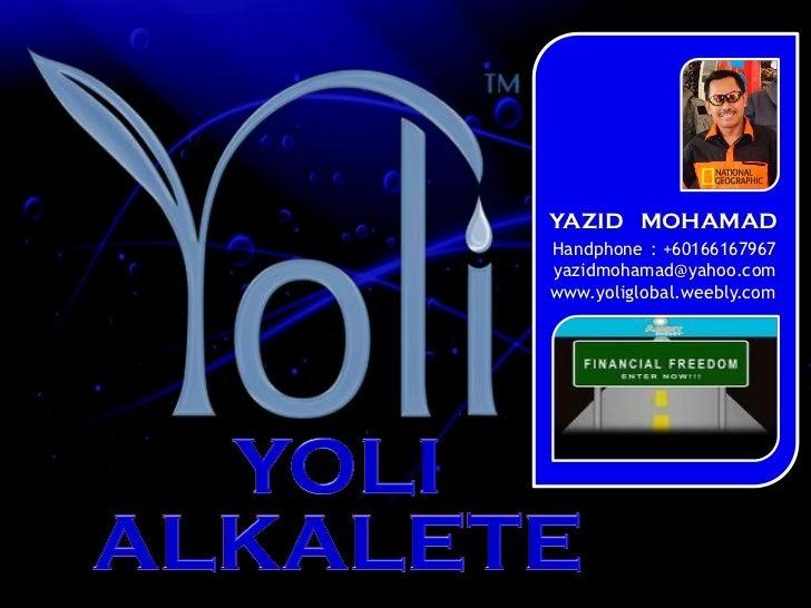 YAZID MOHAMAD                                                                               Handphone : +60166167967      ...