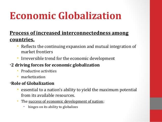 economic globalisation essay