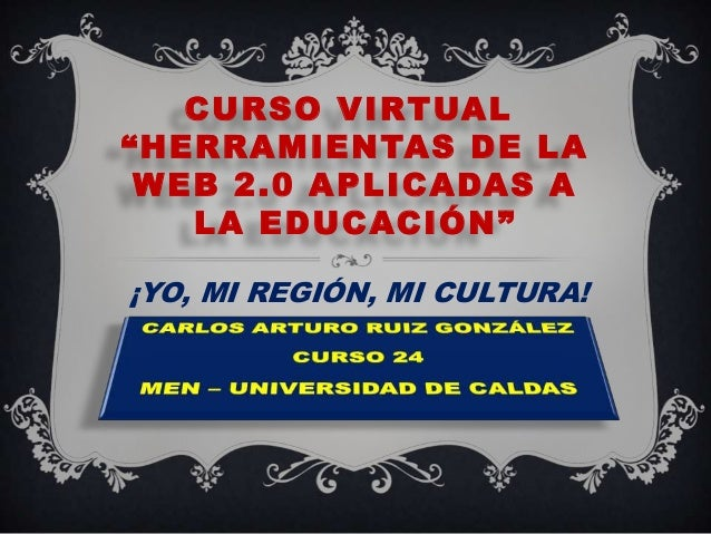 !Yo, mi región, mi cultura¡