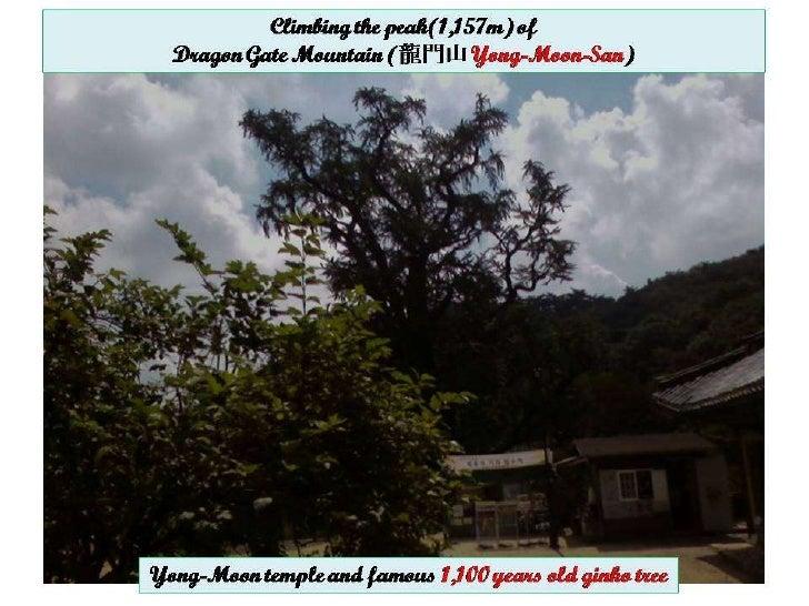 Dragon Gate Mountain Climbing(Yong-Moon-San) pps