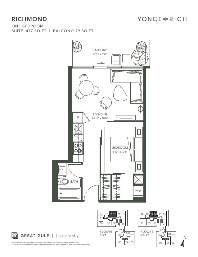 Yonge and rich floorplans for 16 yonge floor plans
