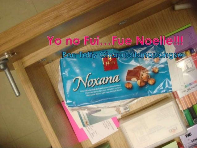 Noelle está en la clase de español y ella está muy aburrida porque ella piensa la profesora habla mucho.