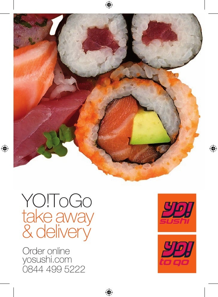YO!ToGo take away & delivery Order online yosushi.com 0844 499 5222