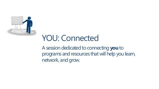 YOU: Connected (DevTeach, May 2013)