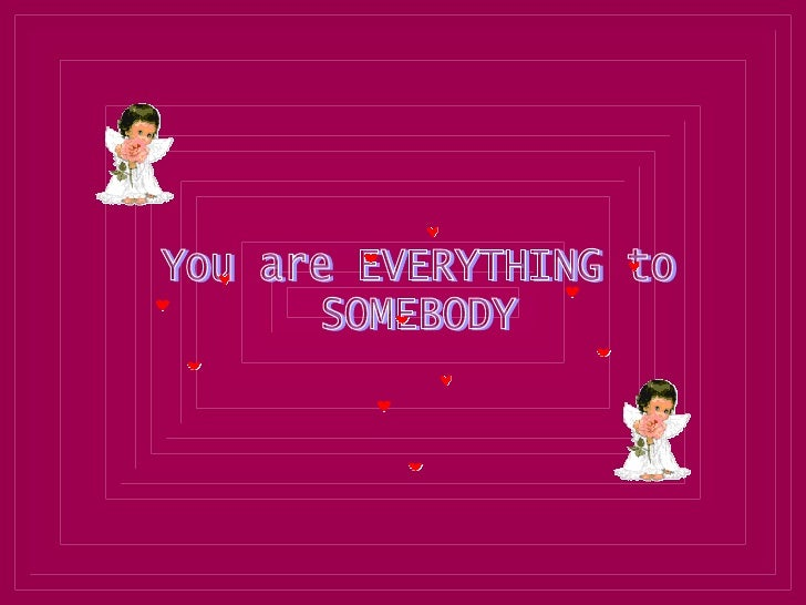 You For Someone S