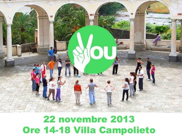 22 novembre 2013 Ore 14-18 Villa Campolieto