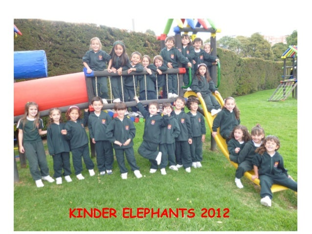 KINDER ELEPHANTS 2012