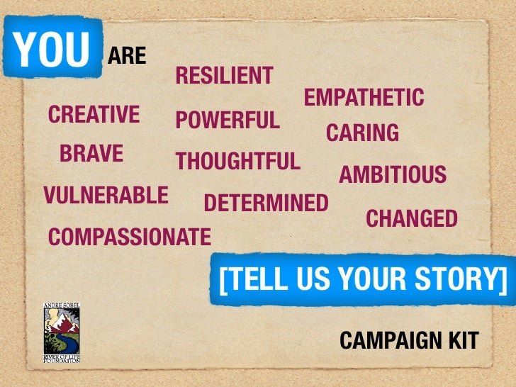 You are campaign kit