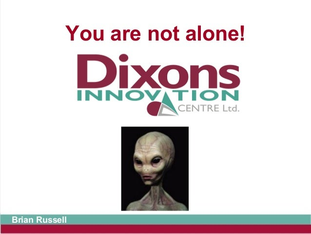 You are not alone!Brian Russell
