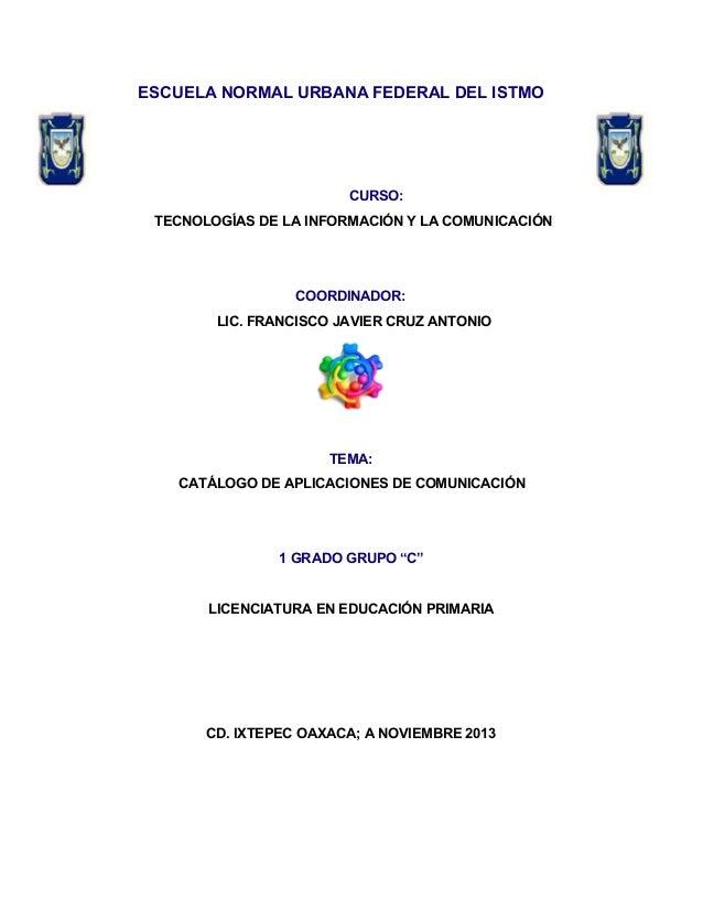 Catálogo de aplicaciones