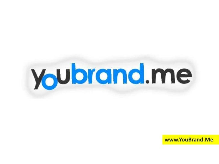 You Brand Me - Personal Branding Services