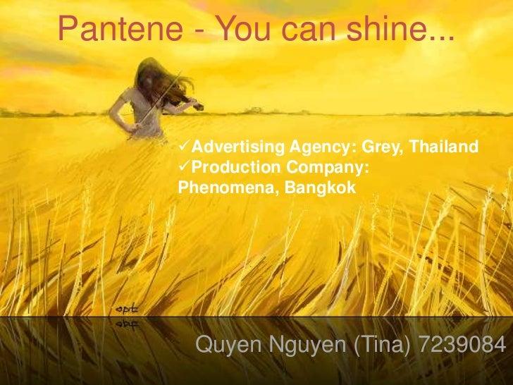 Pantene- You Can Shine