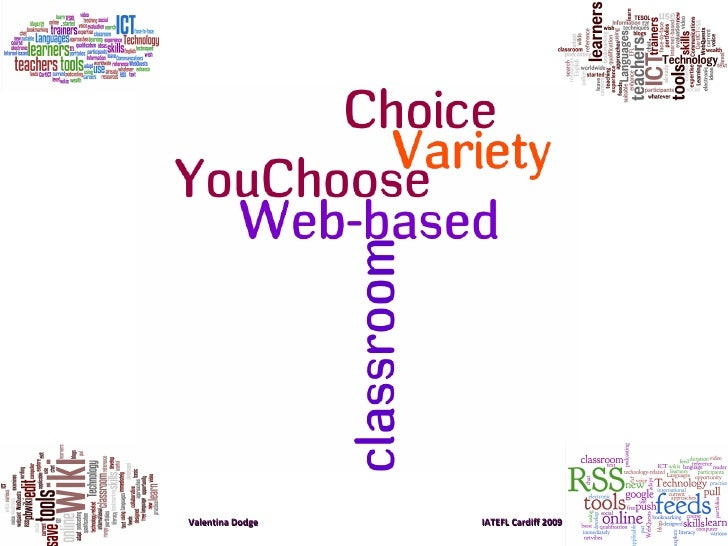 You Choose -Choice and Variety in the Web-based Classroom