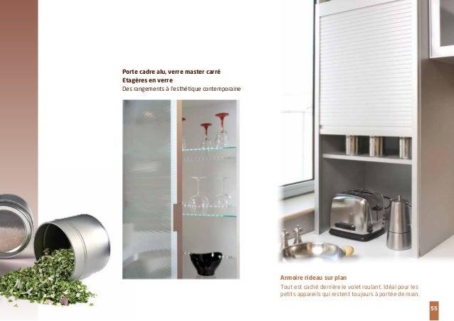 You esprit cuisine - Volet roulant meuble cuisine ...