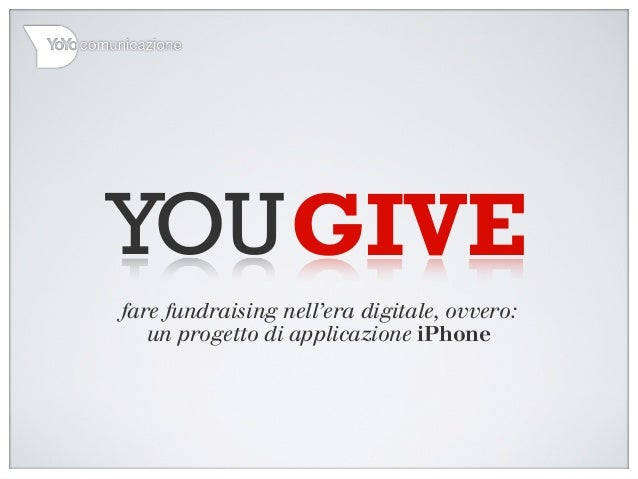 YouGive - Mobile Fundraising