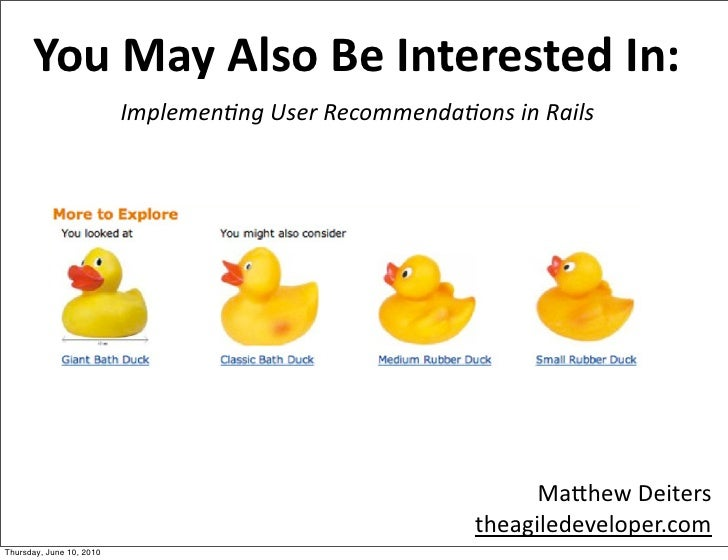 You Might Also Like: Implementing User Recommendations in Rails