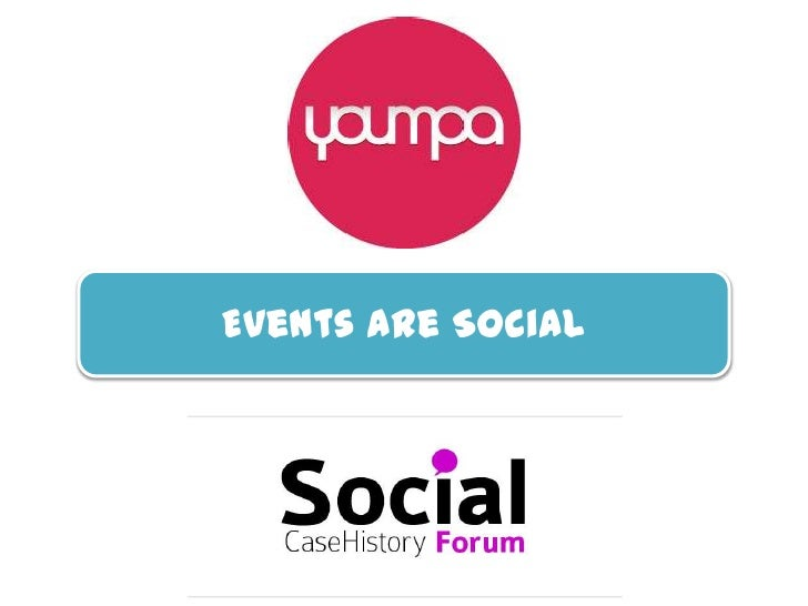 Events are Social