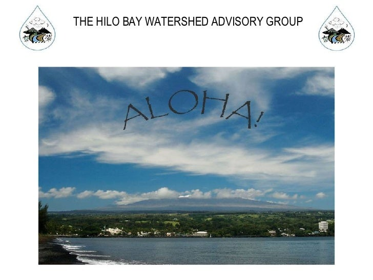 THE HILO BAY WATERSHED ADVISORY GROUP