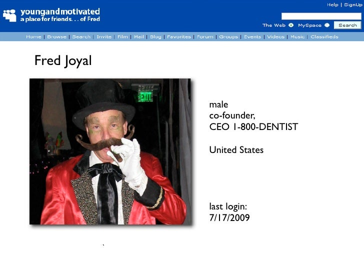 Fred Joyal                   male                  co-founder,                  CEO 1-800-DENTIST                   United...